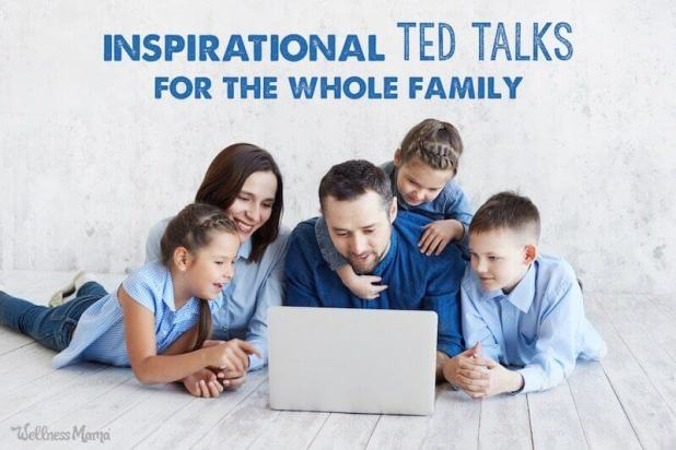 best TED Talks for moms and kids