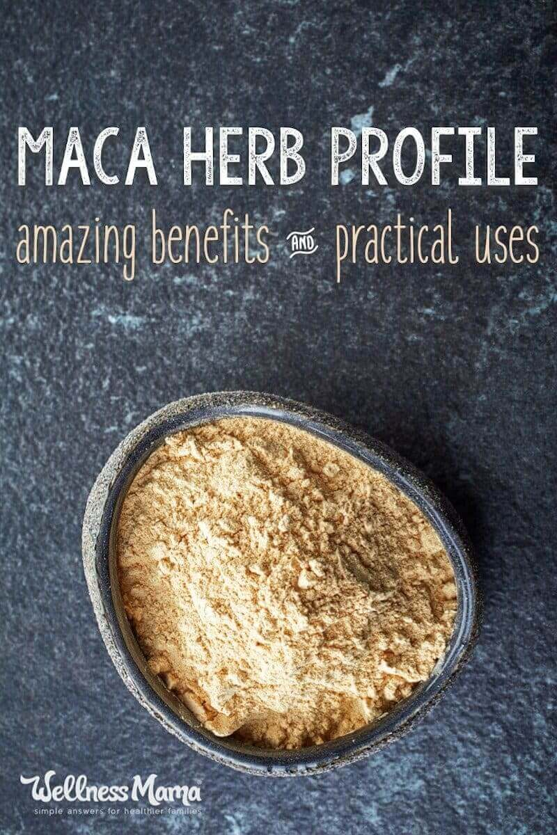 Maca Root is a tuber native to Peru that is known to balance hormones, increase fertility, boost adrenal healthy and improve thyroid function.
