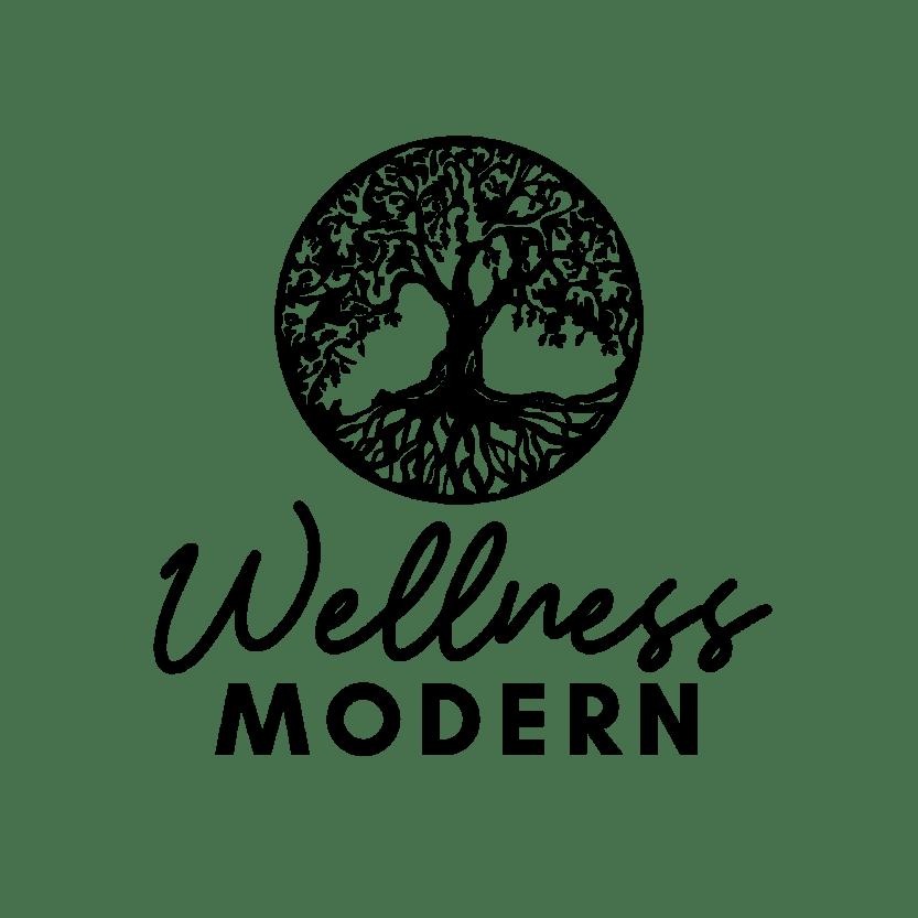 Wellness Modern Logo