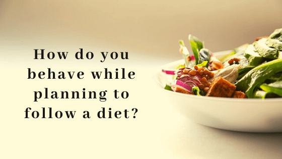 how the do you follow a diet