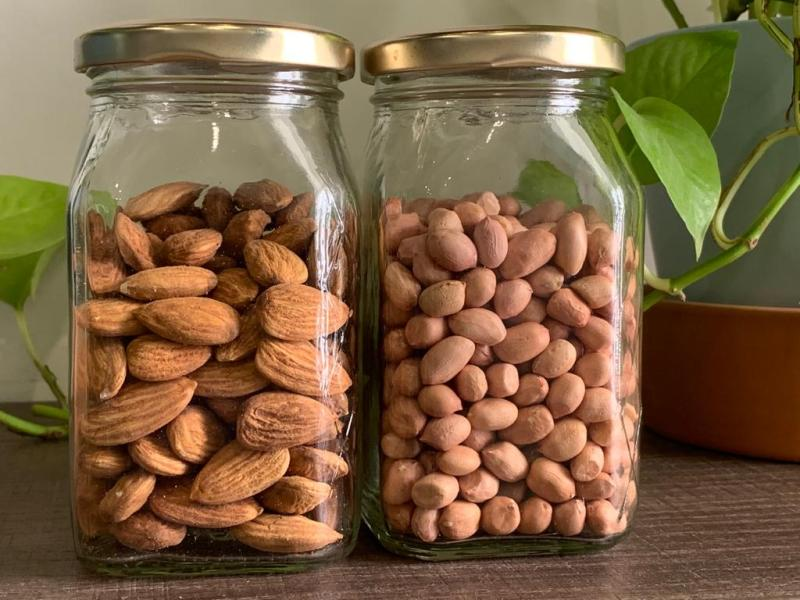 Peanut vs almond - what to choose?
