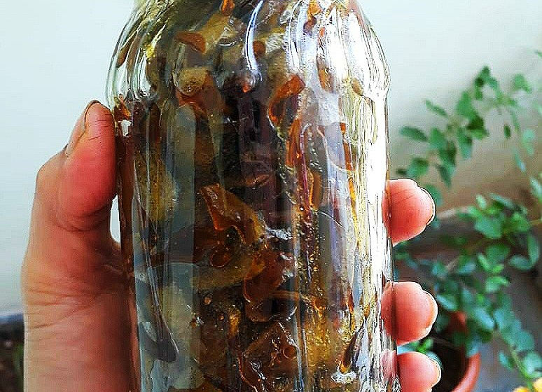 Homemade Recipe of Raw Mango Peel Achar