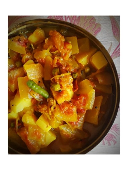 Utilize watermelon rind in 3 easy recipes - non spicy watermelon rind/peel curry