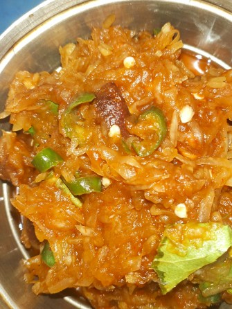 How to eat jackfruit seeds in Indian Recipes : kathal bichi bhorta recipe