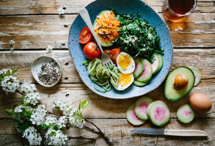 Healthy nutrition for moms