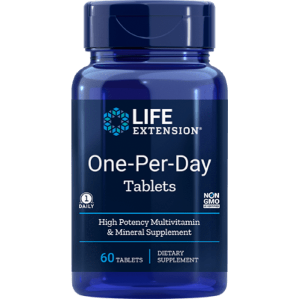 Life Extension | One-Per-Day Multivitamin Tablets