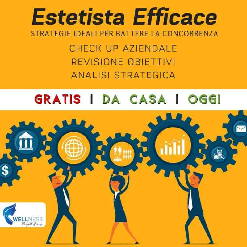 Estetista Efficace Check Up Chiara Marchi Wellness Project Group