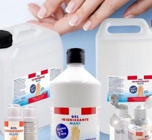 gel igienizzante shop centro estetico Wellness Project Group