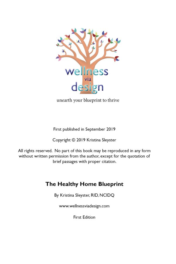 The Healthy Home Blueprint Introduction