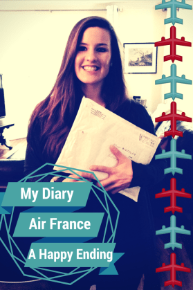 My Diary. Air France. A Happy Ending. Pic