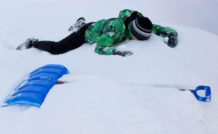 Snow…My Aching Back!