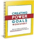 Creating Power Goals Worksheet