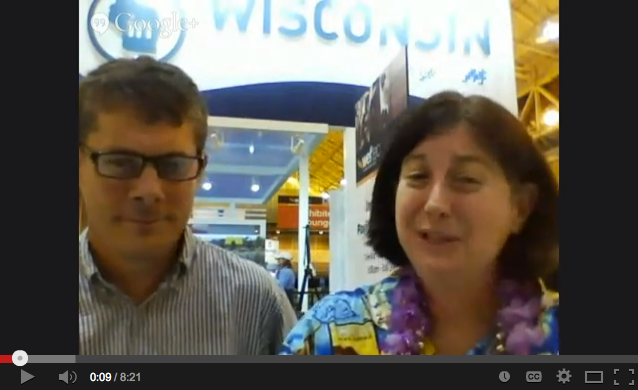 Cat Schrier interviews Nick Hayes at Weftec