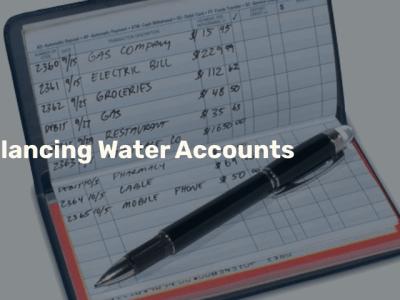 Balancing Water Accounts