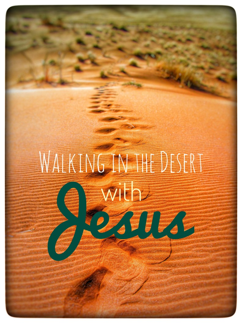 Reading about Jesus' time spent in the desert, and how without fail He stood up to Satan and his promises of glory and power, has made me even more grateful to be a daughter living in the New Testament Times.