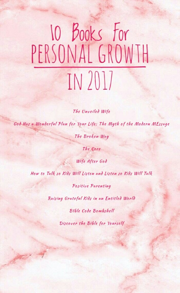 A List of 10 Books for Personal Growth in 2017