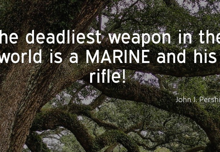 The deadliest weapon