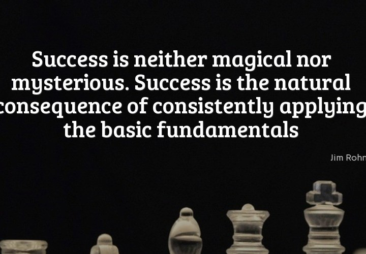Success is neither magical