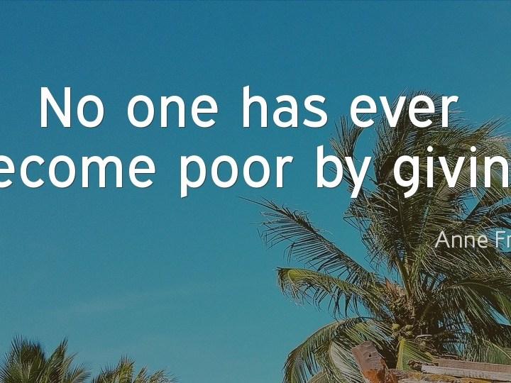 No one has ever