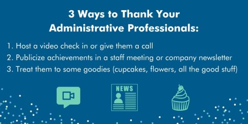 3 ways to than admin pros 2020