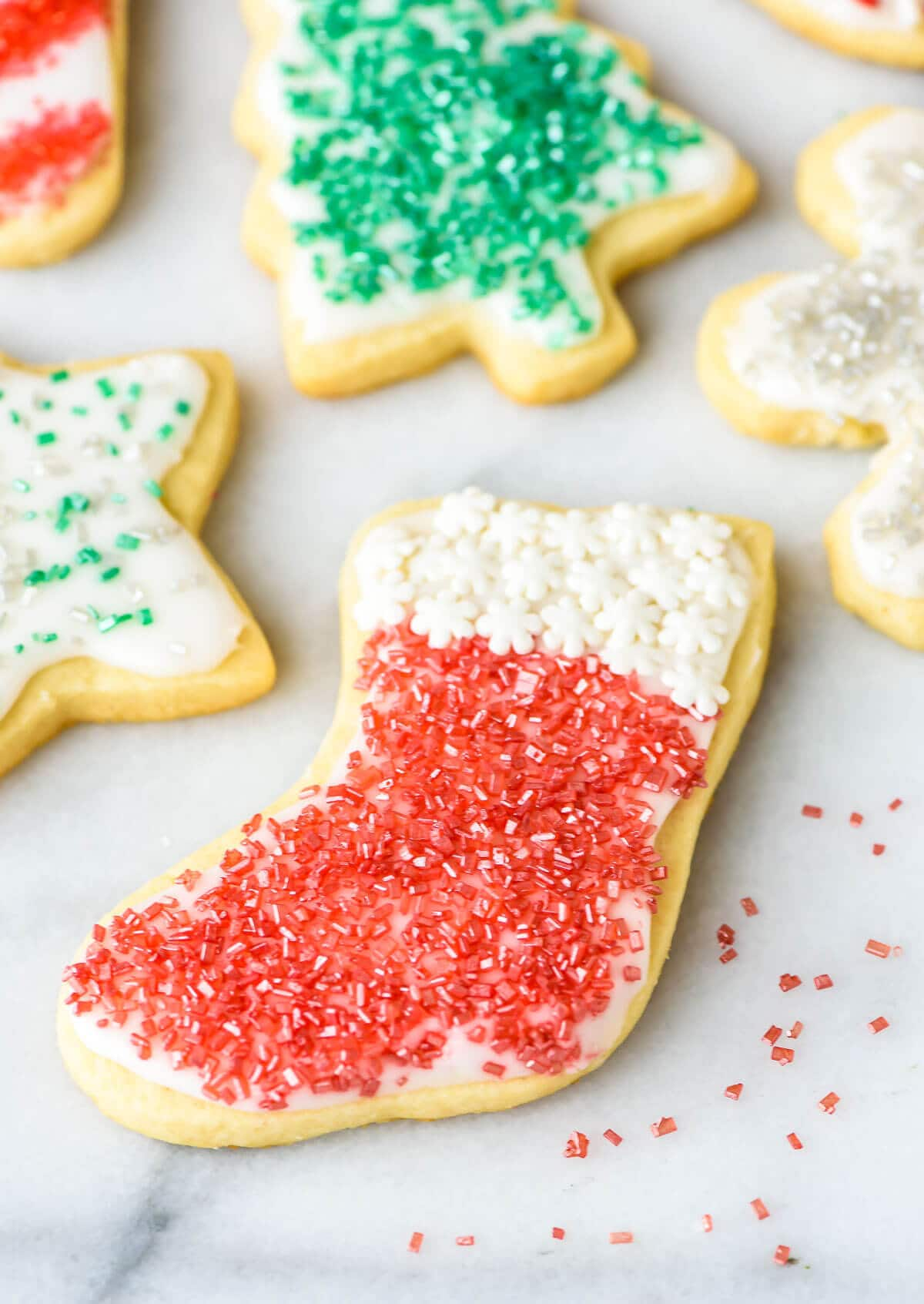 Picture Perfect Christmas Cookies : picture, perfect, christmas, cookies, Cream, Cheese, Sugar, Cookies, Recipe