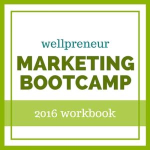 wellpreneur marketing bootcamp 2016 workbook