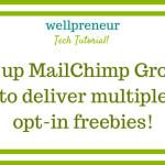 Setup MailChimp Groups to Deliver Multiple Opt-In Gifts How To