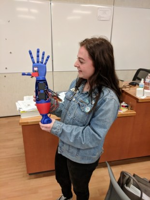 robotic arm from 3d printer