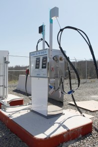 CNG station for emissions reduction