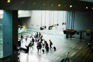 Is the airport a social network?