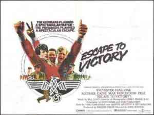 Is Escape to Victory the best football movie of all-time?