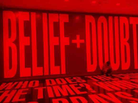 Barbara Kruger: Belief + Doubt
