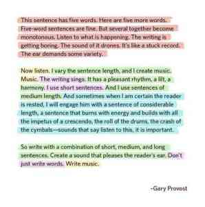 Writing is a lot like music 🎶