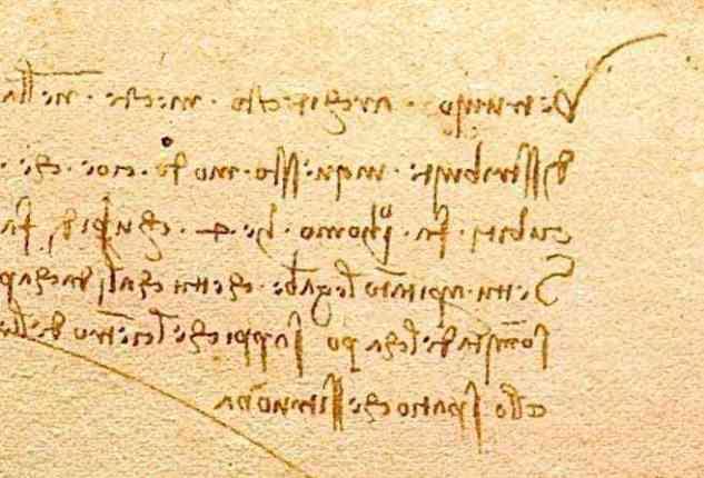 Why Leonardo da Vinci wrote backward