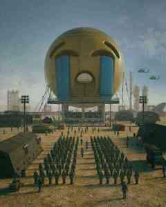 'Emoji Warfare' by Beeple 😭