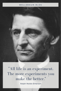 'Failure to experiment sufficiently', #quotes, ralph waldo emerson, experiment quotes