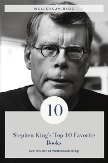 Stephen King's Top 10 Favorite Books #books #reading #fiction #favoritebooks #amreading #writing #nonfiction #history #stories #story