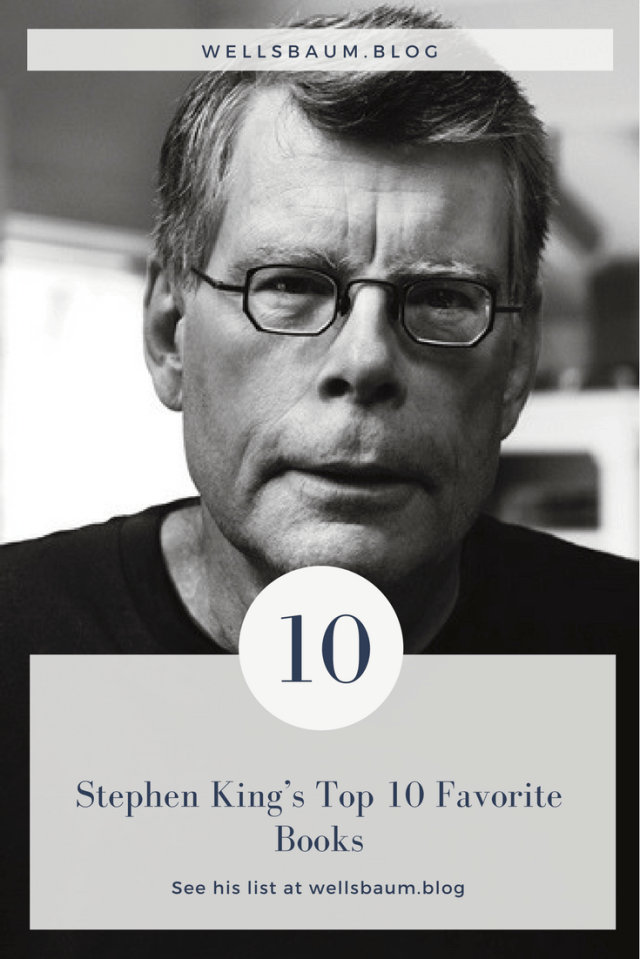Goodreads asked Stephen King to list out his top 10 favorite books of all time. Check out his top ten! #books #author #stephenking