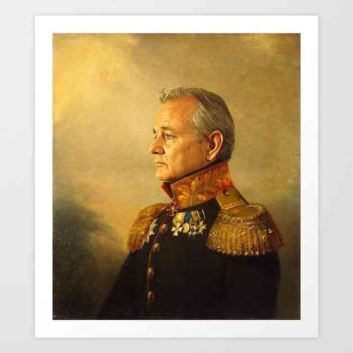 bill murray print, Bill Murray: 'What's it like to be me?'