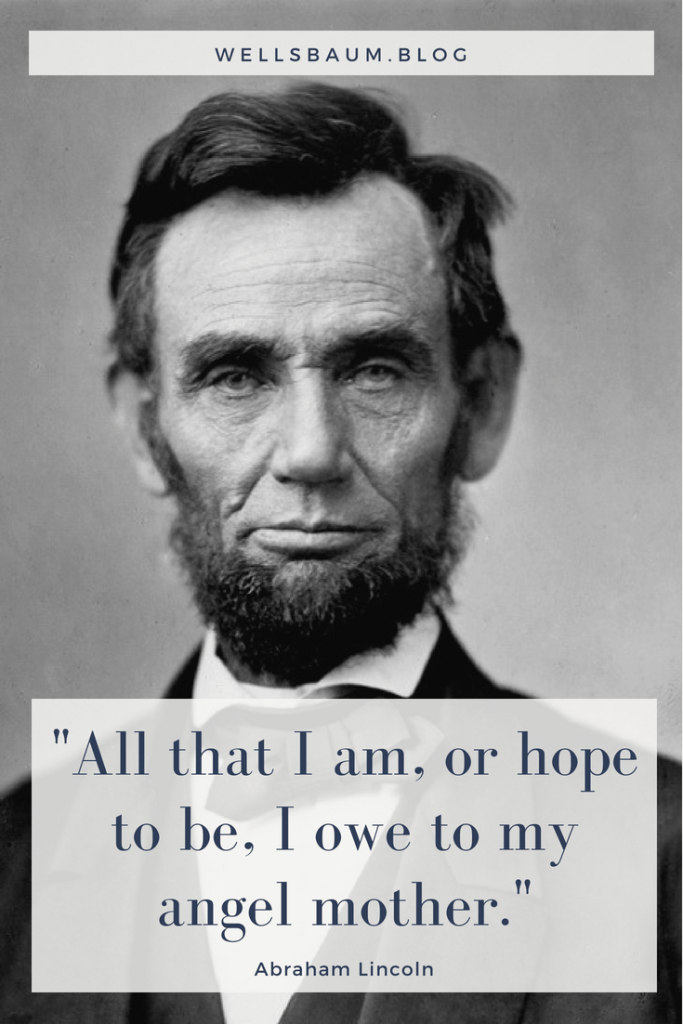 A quote from Abraham Lincoln