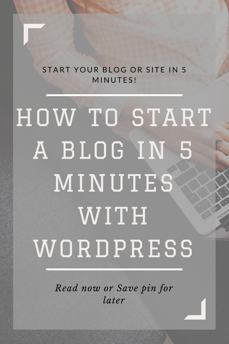 In this tutorial, you will learn in 3 easy steps how to start a WordPress blog on Bluehost. It's simple and takes just 5 minutes! I highly recommend Bluehost for blogging and building websites! #blogging #blogger #wordpress
