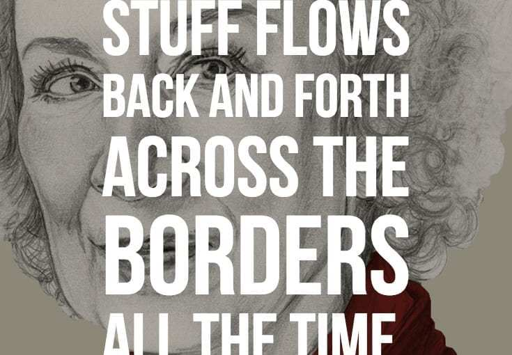 'Genres aren't closed boxes. Stuff flows back and forth across the borders all the time'
