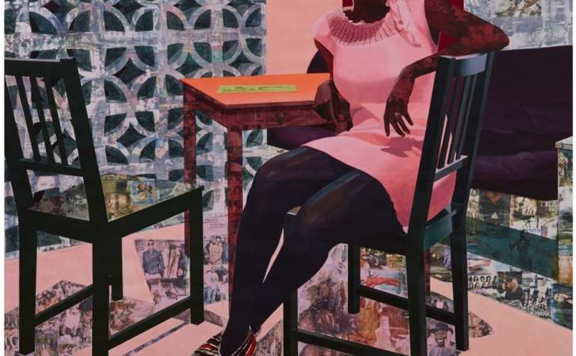 Paintings by Njideka Akunyili Crosby