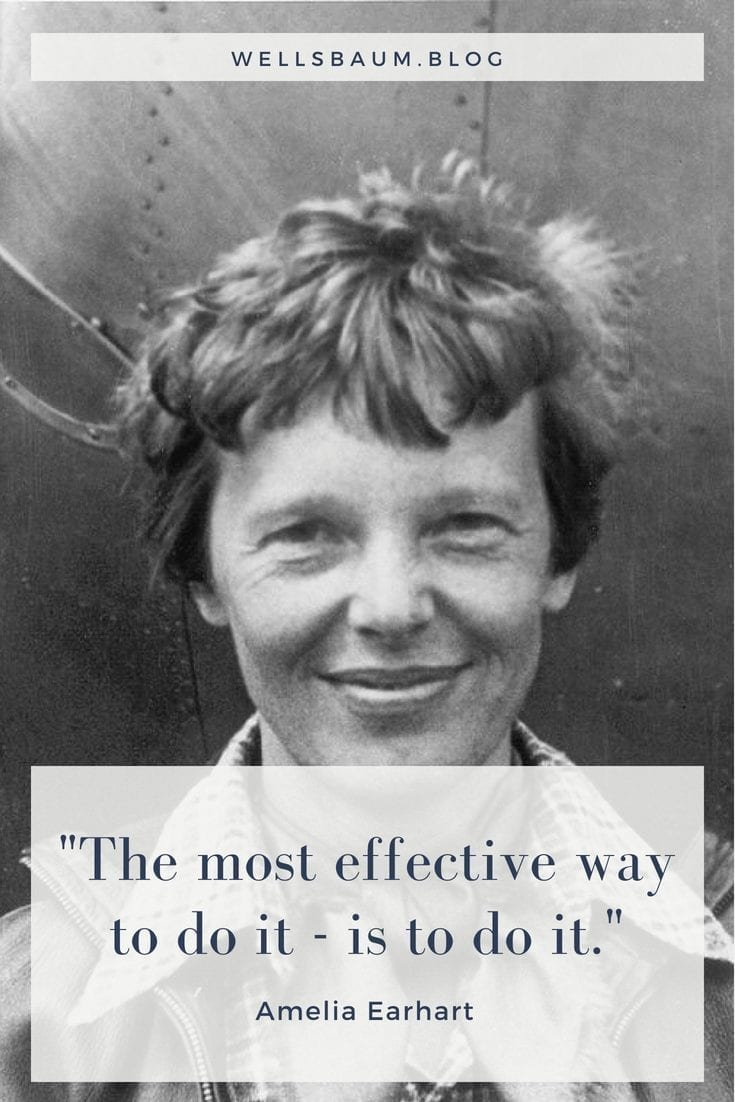 'The most effective way to do it - is to do it'
