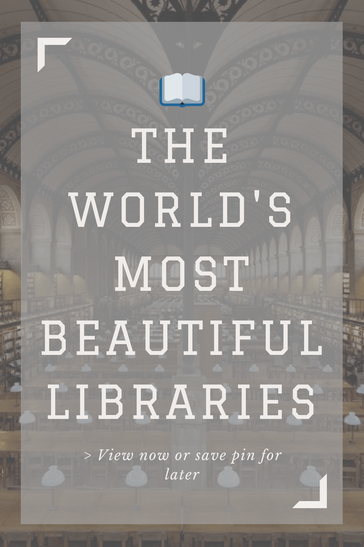 Wow your friends with this new #coffee book showcasing Europe's most extravagant libraries. #travel #books #library