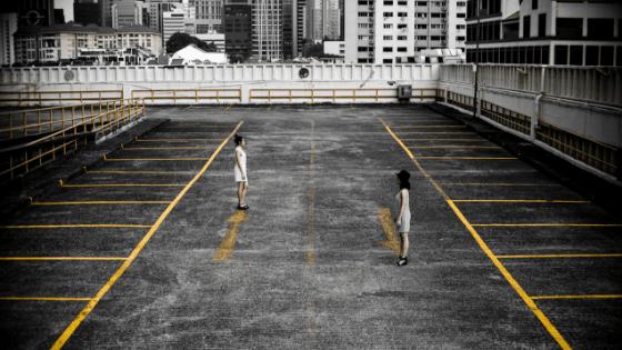 Facing opposites