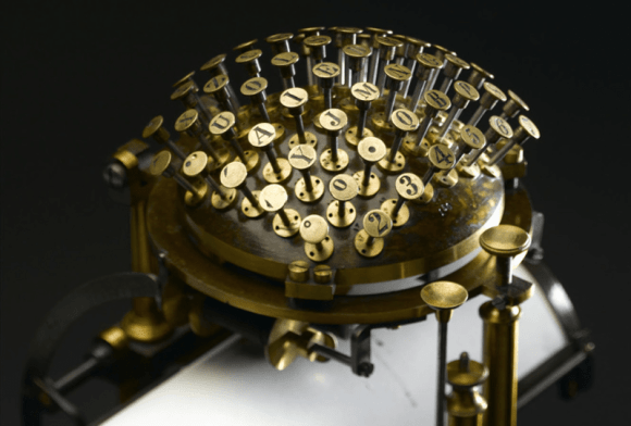 Nietzsche wrote on a Malling-Hansen Writing Ball // How technology impacts the way people write