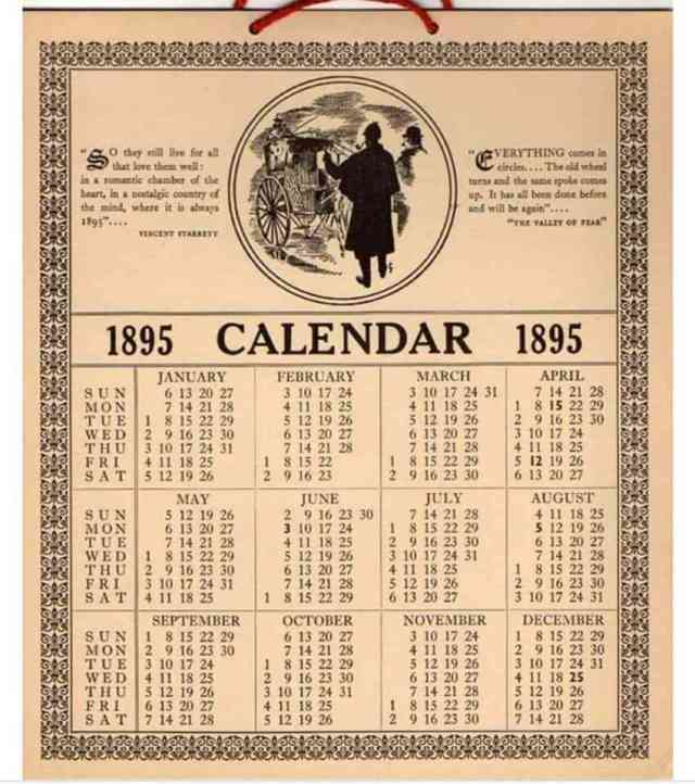 1895 calendar image