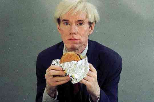 Andy Warhol appears in the weirdest Super Bowl commercial ever