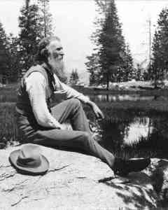 "John Muir: ""Most people are ON the world, not IN it."""